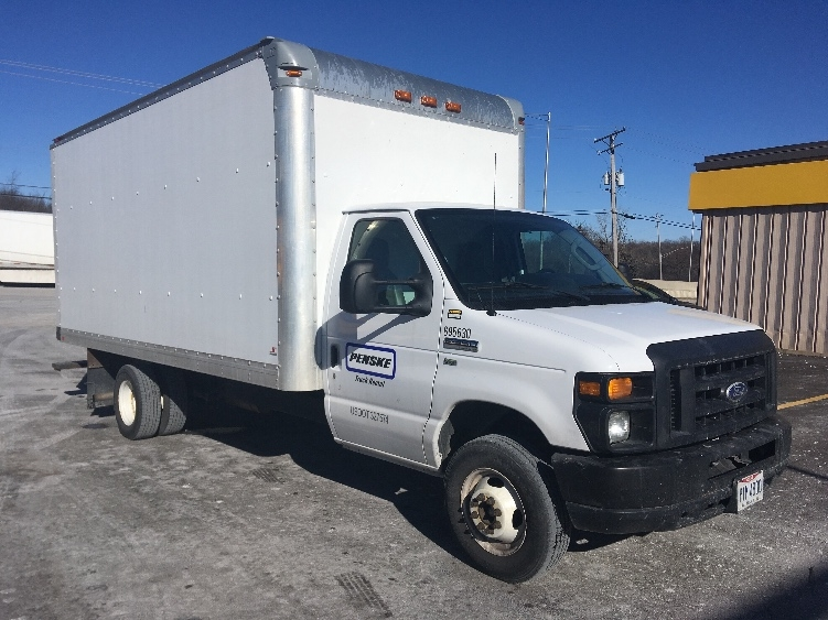 Light Duty Box Truck-Light and Medium Duty Trucks-Ford-2014-E350-WEST CHICAGO-IL-63,940 miles-$25,500