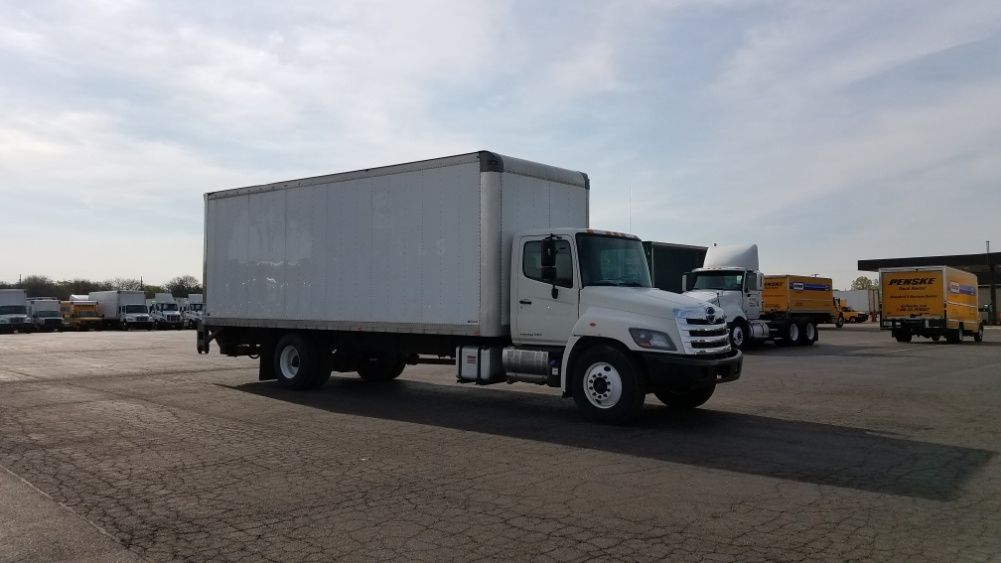 Medium Duty Box Truck-Light and Medium Duty Trucks-Hino-2015-338-WARREN-MI-196,233 miles-$31,250