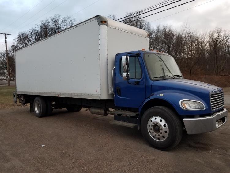 Medium Duty Box Truck-Light and Medium Duty Trucks-Freightliner-2015-M2-WHITE DEER-PA-124,617 miles-$52,500