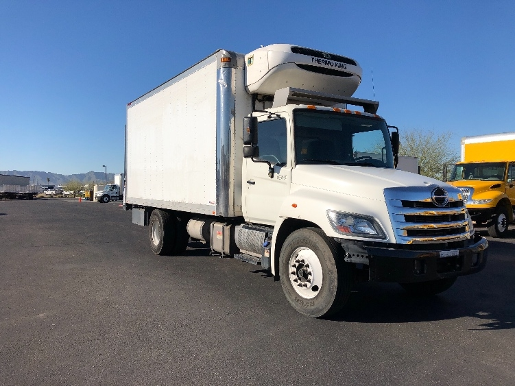 Reefer Truck-Light and Medium Duty Trucks-Hino-2015-268-PHOENIX-AZ-225,619 miles-$43,250