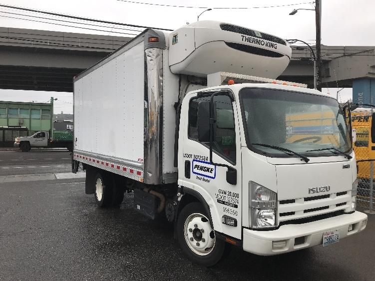 Reefer Truck-Light and Medium Duty Trucks-Isuzu-2014-NQR-EVERETT-WA-124,990 miles-$43,250