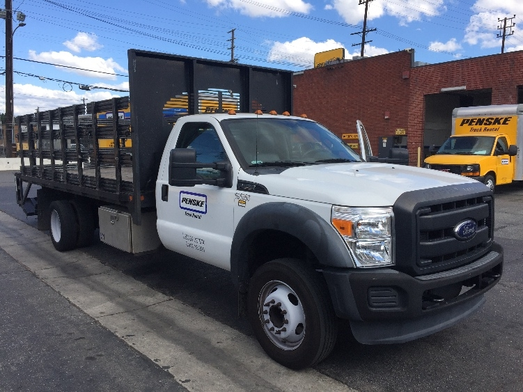 Flatbed Truck-Light and Medium Duty Trucks-Ford-2014-F450-TORRANCE-CA-74,139 miles-$30,750