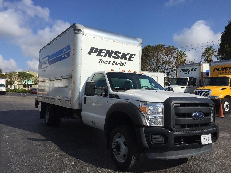 Medium Duty Box Truck-Light and Medium Duty Trucks-Ford-2014-F450-MEDLEY-FL-63,712 miles-$31,250