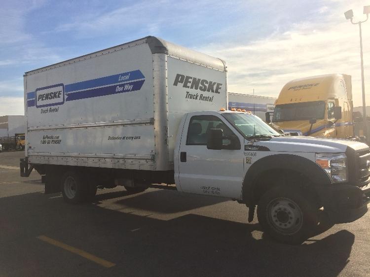 Medium Duty Box Truck-Light and Medium Duty Trucks-Ford-2014-F450-LOS ANGELES-CA-93,192 miles-$31,500