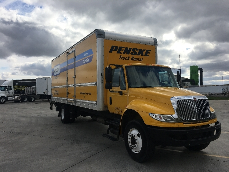 Medium Duty Box Truck-Light and Medium Duty Trucks-International-2015-4300-GOSHEN-IN-159,202 miles-$40,500