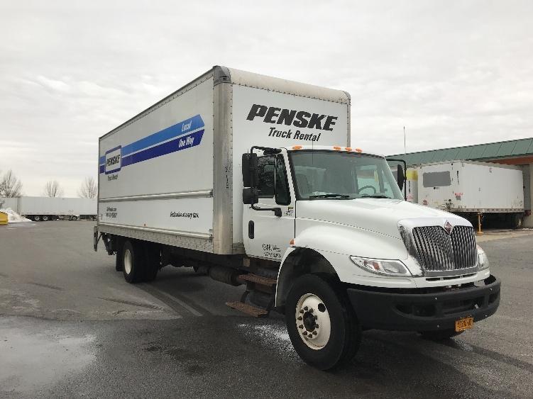 Medium Duty Box Truck-Light and Medium Duty Trucks-International-2015-4300-EAST SYRACUSE-NY-161,165 miles-$40,250