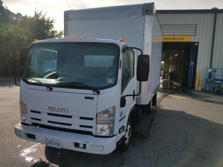 Medium Duty Box Truck-Light and Medium Duty Trucks-Isuzu-2014-NPR-NORFOLK-VA-104,346 miles-$28,250