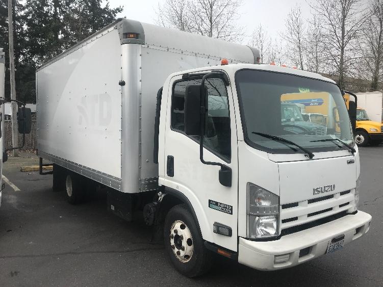 Medium Duty Box Truck-Light and Medium Duty Trucks-Isuzu-2013-NPR-KENT-WA-183,633 miles-$8,000