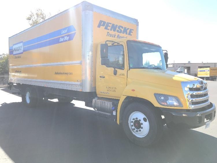 Medium Duty Box Truck-Light and Medium Duty Trucks-Hino-2015-268-WEST SACRAMENTO-CA-109,880 miles-$54,750