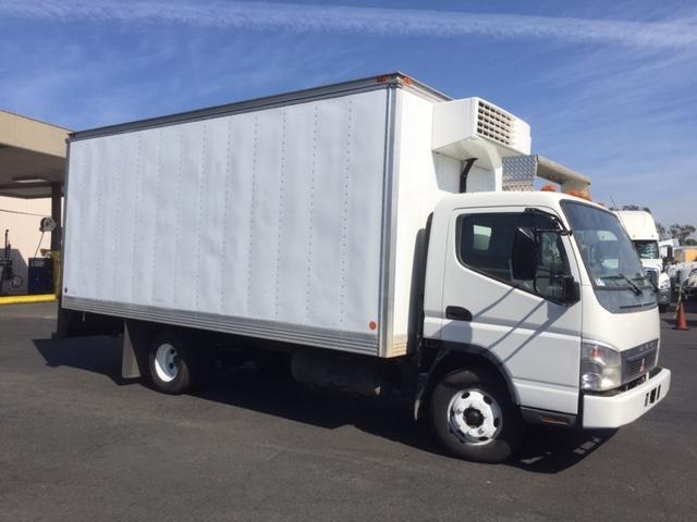 Reefer Truck-Light and Medium Duty Trucks-Mitsubishi-2006-FE145-WEST SACRAMENTO-CA-64,936 miles-$17,500