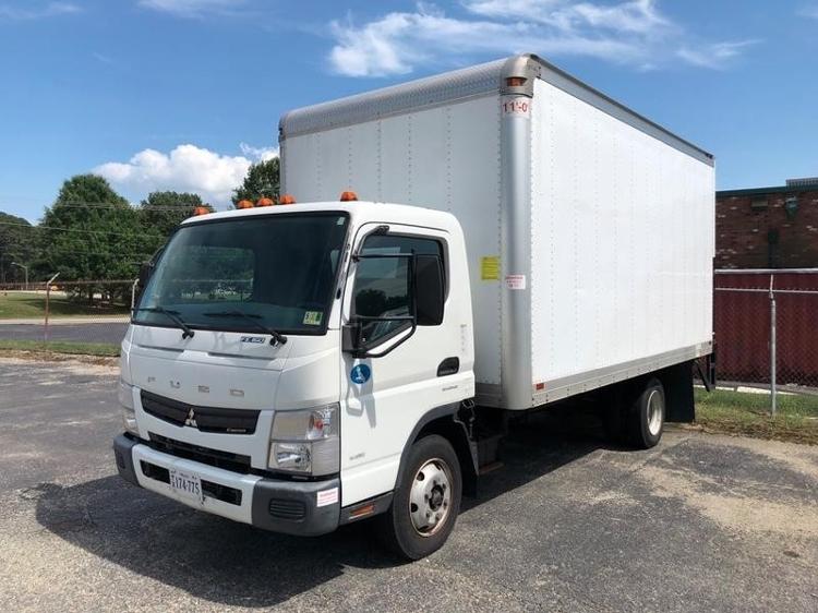 Medium Duty Box Truck-Light and Medium Duty Trucks-Mitsubishi-2012-FE160-NEWPORT NEWS-VA-97,775 miles-$24,000