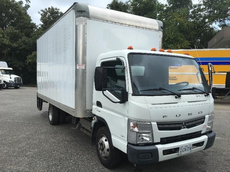 Medium Duty Box Truck-Light and Medium Duty Trucks-Mitsubishi-2012-FE160-NEWPORT NEWS-VA-99,987 miles-$23,000