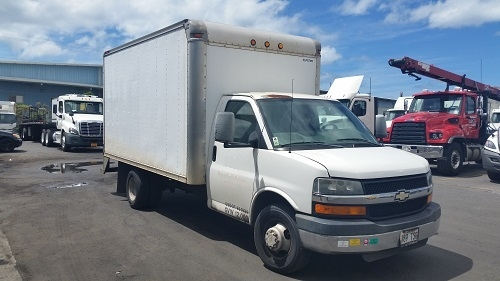 Light Duty Box Truck-Light and Medium Duty Trucks-Chevrolet-2005-EXPRESS-HONOLULU-HI-125,281 miles-$4,250