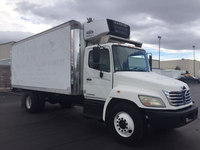 Reefer Truck-Light and Medium Duty Trucks-Hino-2007-268-LAS VEGAS-NV-184,684 miles-$25,500
