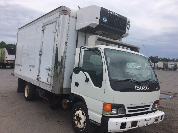 Reefer Truck-Light and Medium Duty Trucks-Isuzu-2001-NQR-WHITE DEER-PA-256,828 miles-$4,400