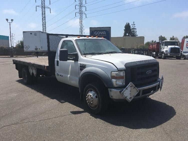 Flatbed Truck-Light and Medium Duty Trucks-Ford-2008-F450-SAN LEANDRO-CA-183,330 miles-$5,000