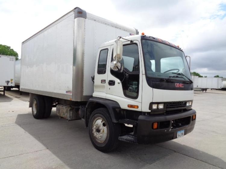 Medium Duty Box Truck-Light and Medium Duty Trucks-GMC-2007-T7F042-DES MOINES-IA-143,993 miles-$22,500