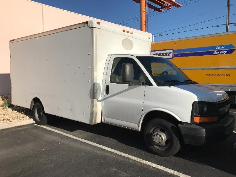 Light Duty Box Truck-Light and Medium Duty Trucks-Chevrolet-2007-G33803-LAS VEGAS-NV-220,227 miles-$8,750
