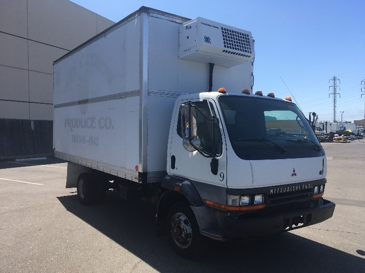 Reefer Truck-Light and Medium Duty Trucks-Mitsubishi-2000-FH211-SAN LEANDRO-CA-349,285 miles-$6,000