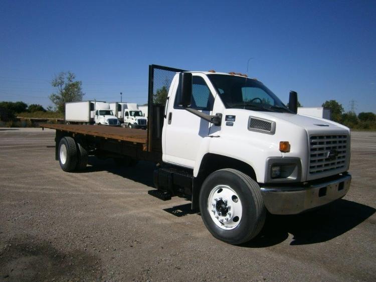 Flatbed Truck-Light and Medium Duty Trucks-GMC-2006-C6500-SAGINAW-MI-130,579 miles-$19,750
