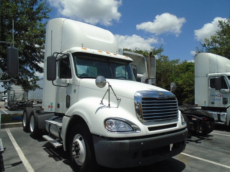 Day Cab Tractor-Heavy Duty Tractors-Freightliner-2007-Columbia CL12064ST-LAKELAND-FL-771,212 miles-$24,250