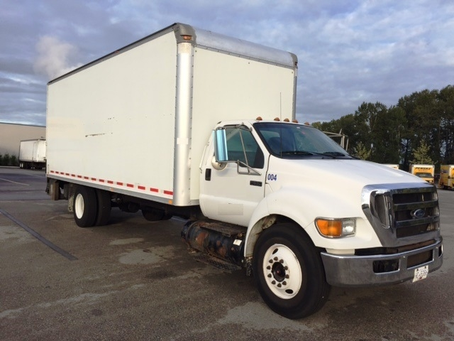 Medium Duty Box Truck-Light and Medium Duty Trucks-Ford-2005-F650-DELTA-BC-293,148 km-$14,000