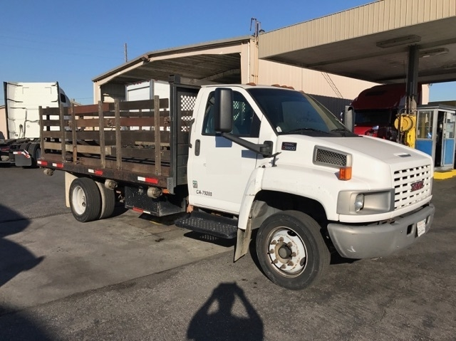 Flatbed Truck-Light and Medium Duty Trucks-GMC-2007-C5500-TORRANCE-CA-256,084 miles-$10,500