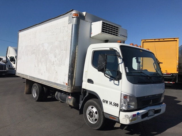 Reefer Truck-Light and Medium Duty Trucks-Mitsubishi-2008-FE140-TORRANCE-CA-126,372 miles-$21,250