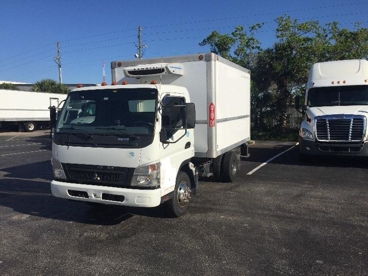 Reefer Truck-Light and Medium Duty Trucks-Mitsubishi-2010-FE140-ORLANDO-FL-117,159 miles-$16,000
