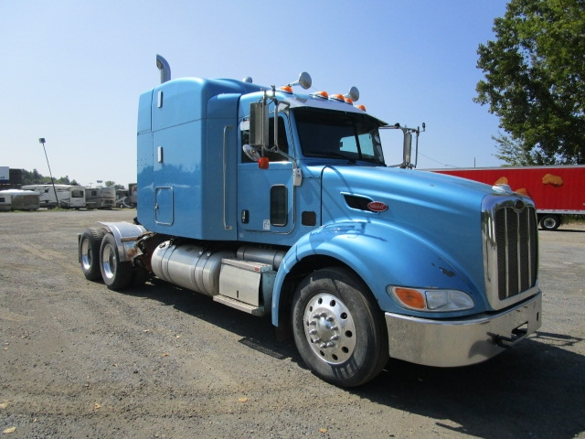 Sleeper Tractor-Heavy Duty Tractors-Peterbilt-2009-386-GREENSBORO-NC-538,412 miles-$32,500