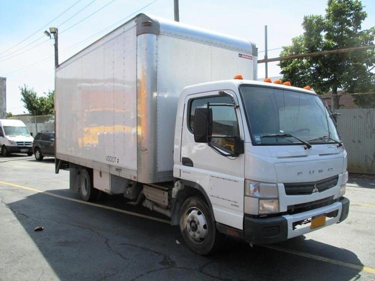 Medium Duty Box Truck-Light and Medium Duty Trucks-Mitsubishi-2012-FE160-JAMAICA-NY-46,100 miles-$27,500