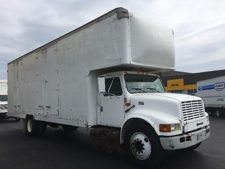 Medium Duty Box Truck-Light and Medium Duty Trucks-International-1999-4700-OKLAHOMA CITY-OK-269,185 miles-$11,750