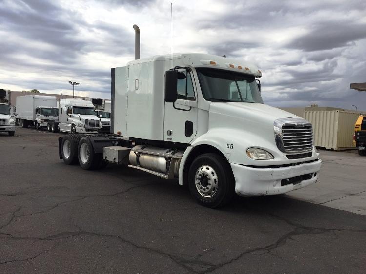 Sleeper Tractor-Heavy Duty Tractors-Freightliner-2007-Columbia CL11264ST-PHOENIX-AZ-415,712 miles-$30,750