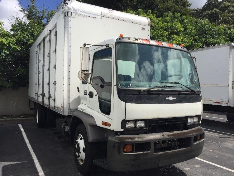 Medium Duty Box Truck-Light and Medium Duty Trucks-Chevrolet-2006-T7F042-LAKELAND-FL-484,579 miles-$10,250