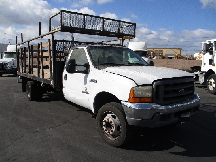 Flatbed Truck-Light and Medium Duty Trucks-Ford-2001-F550-ANAHEIM-CA-406,182 miles-$4,250