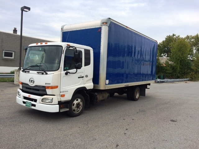 Medium Duty Box Truck-Light and Medium Duty Trucks-Nissan-2011-UD2000-GANSEVOORT-NY-124,957 miles-$24,250