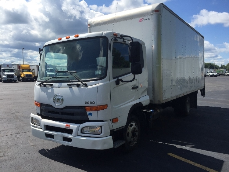 Medium Duty Box Truck-Light and Medium Duty Trucks-Nissan-2012-UD2000-LIVERPOOL-NY-128,413 miles-$33,250