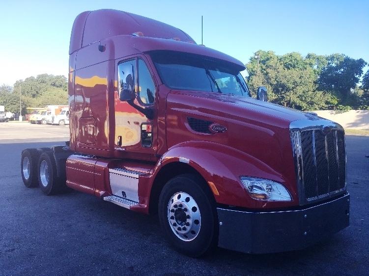 Sleeper Tractor-Heavy Duty Tractors-Peterbilt-2012-587-LAKELAND-FL-395,151 miles-$54,250