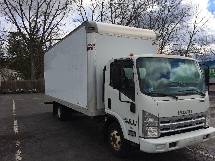 Medium Duty Box Truck-Light and Medium Duty Trucks-Isuzu-2009-NPR-ALBANY-NY-139,897 miles-$18,950
