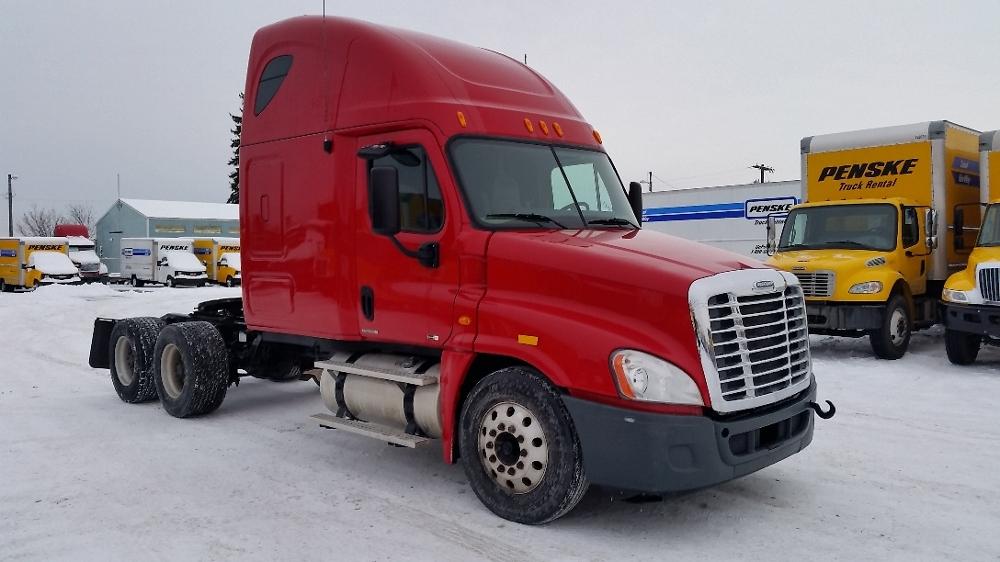 Sleeper Tractor-Heavy Duty Tractors-Freightliner-2011-Cascadia 12564ST-SPOKANE VALLEY-WA-636,064 miles-$28,600