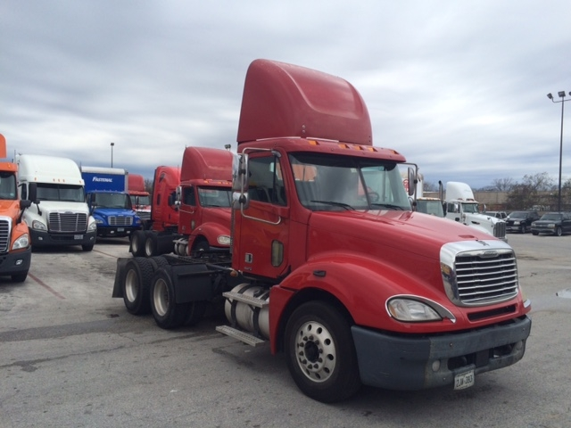 Day Cab Tractor-Heavy Duty Tractors-Freightliner-2007-Columbia CL12064ST-HOUSTON-TX-516,510 miles-$24,750