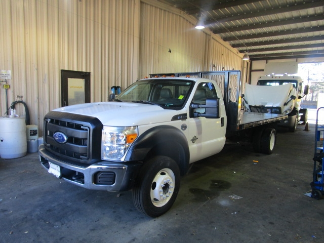 Flatbed Truck-Light and Medium Duty Trucks-Ford-2011-F550-CONYERS-GA-105,332 miles-$27,750