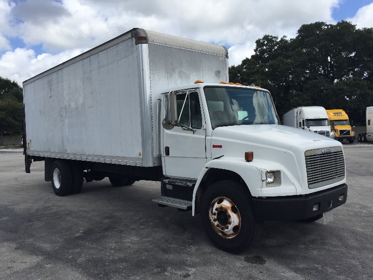 Medium Duty Box Truck-Light and Medium Duty Trucks-Freightliner-2002-FL70-LAKELAND-FL-347,532 miles-$10,000