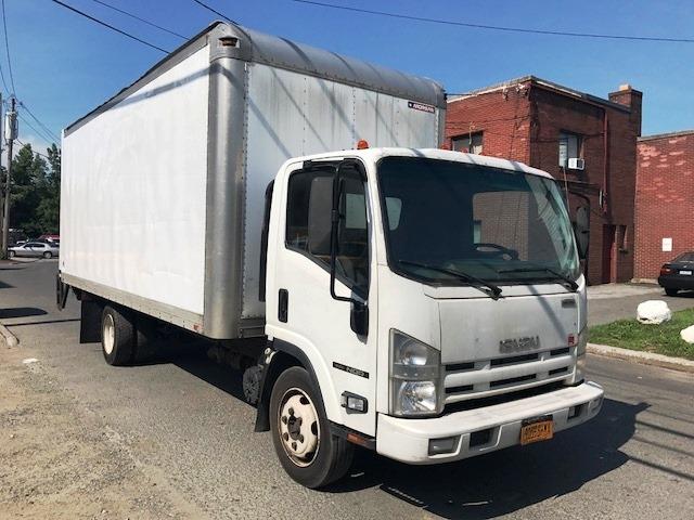 Medium Duty Box Truck-Light and Medium Duty Trucks-Isuzu-2010-NQR-ELMSFORD-NY-89,868 miles-$25,750