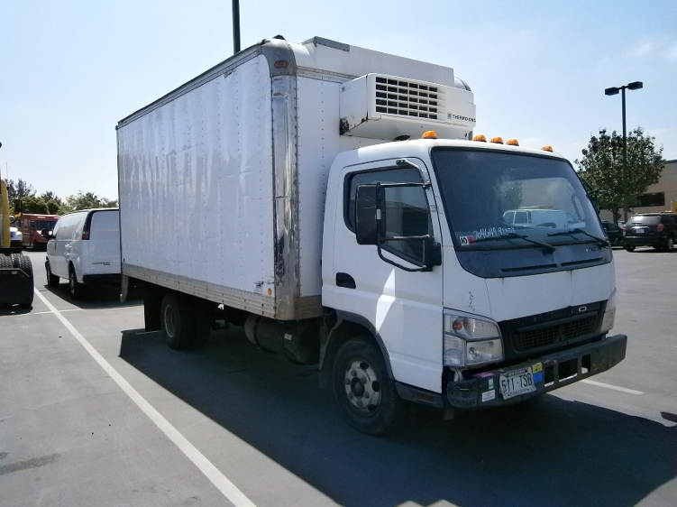Reefer Truck-Light and Medium Duty Trucks-Mitsubishi-2006-FE140-TORRANCE-CA-185,535 miles-$11,250