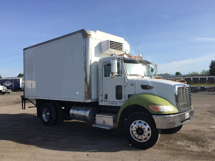 Reefer Truck-Light and Medium Duty Trucks-Peterbilt-2009-335-WEST SACRAMENTO-CA-198,575 miles-$30,250