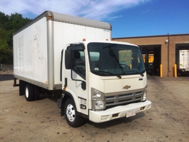 Medium Duty Box Truck-Light and Medium Duty Trucks-Chevrolet-2008-W4500-FRAMINGHAM-MA-218,343 miles-$12,500
