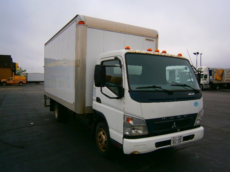 Medium Duty Box Truck-Light and Medium Duty Trucks-Mitsubishi-2008-FE180-MISSISSAUGA-ON-180,851 km-$11,750