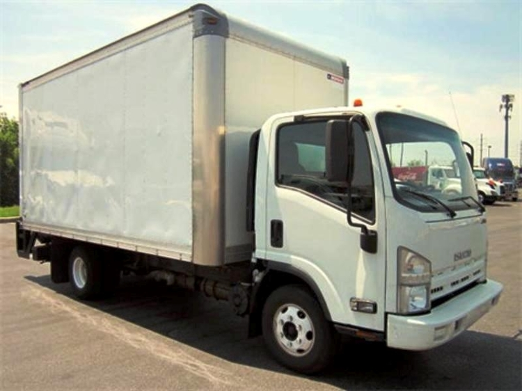 Medium Duty Box Truck-Light and Medium Duty Trucks-Isuzu-2010-NPR-ALLENTOWN-PA-148,737 miles-$21,500