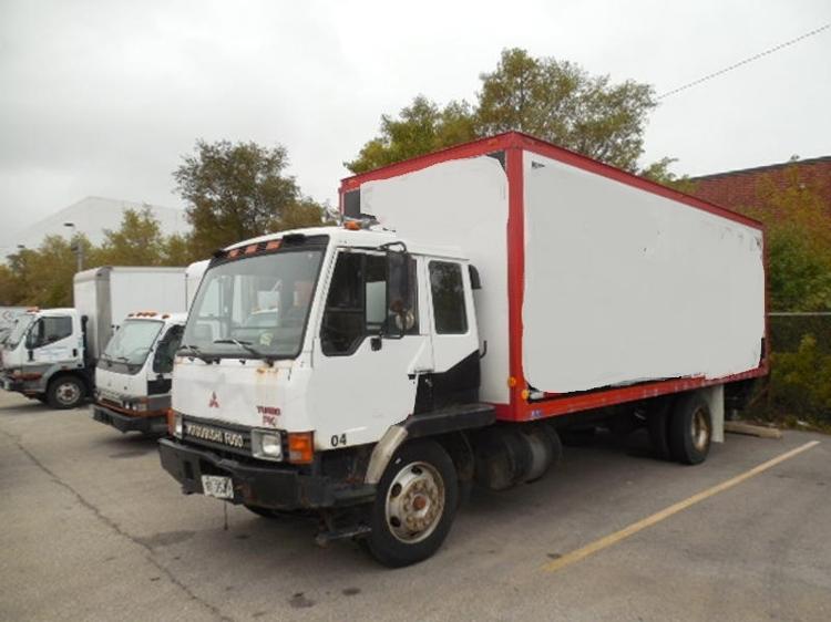 Medium Duty Box Truck-Light and Medium Duty Trucks-Mitsubishi-1990-FK415-FRANKLIN PARK-IL-285,282 miles-$6,150